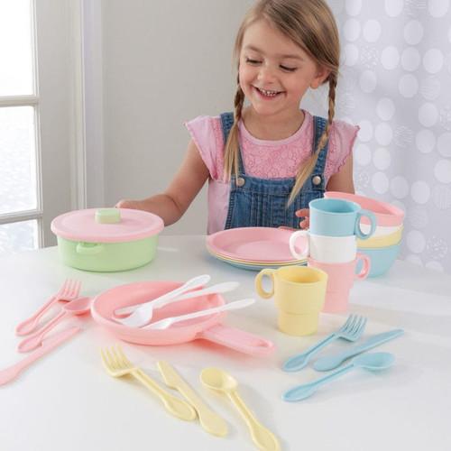 27-Piece Pastel Cookware Set