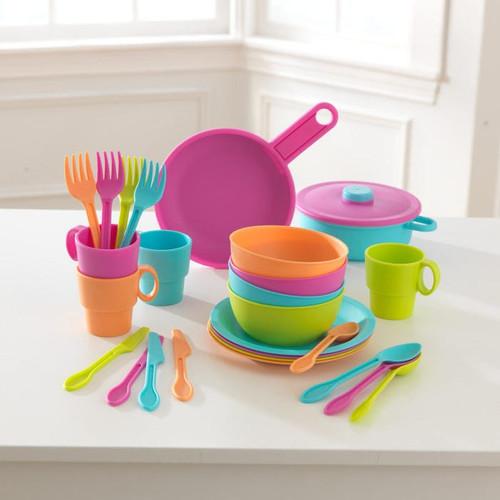 27-Piece Bright Cookware Set