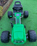 TarraForce - Eva Rubber Wheel Tyres Go Kart / Cart - Green & Black- 4-10 Years (1902-GREEN)