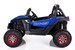Ground Commander - 24v Two Seater - Remote control ATV Quad - Electric Ride On - MP3 - Cobolt Blue - Upgraded Rubber Wheels & Leather Seat