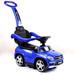 Licensed Mercedes AMG Push Bar (Blue) Foot-to-Floor Car