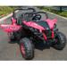 Ground Commander 24V Electric Ride on Buggy (Pink) - XMX603-PINK - Funstuff.ie Ireland UK