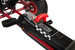Rubber wheel Red Go Kart / Car Ireland