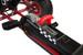 Zoom Rubber Wheel Go Kart (Red Black)