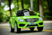 Mercedes Style Coupe 12V Electric Ride On Car (Green)