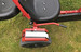 Hercules Large Rubber Wheel Heavy Duty Steel Framed Go Kart - Extra Seat (Black & Red) - GC0214C-BLACK-RED - Funstuff.ie Ireland UK