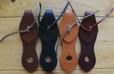 Colors Choices from Left to Right: Brown, Black, Honey Harness and Burgundy Latigo.