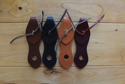 Two Piece Tie Slobber Straps