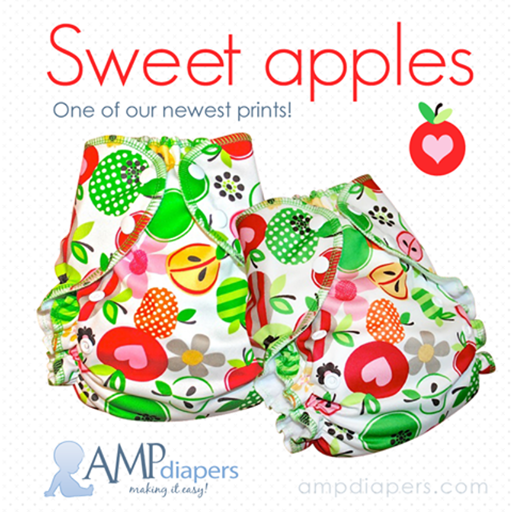 AMP Diapers - Sweet Apples