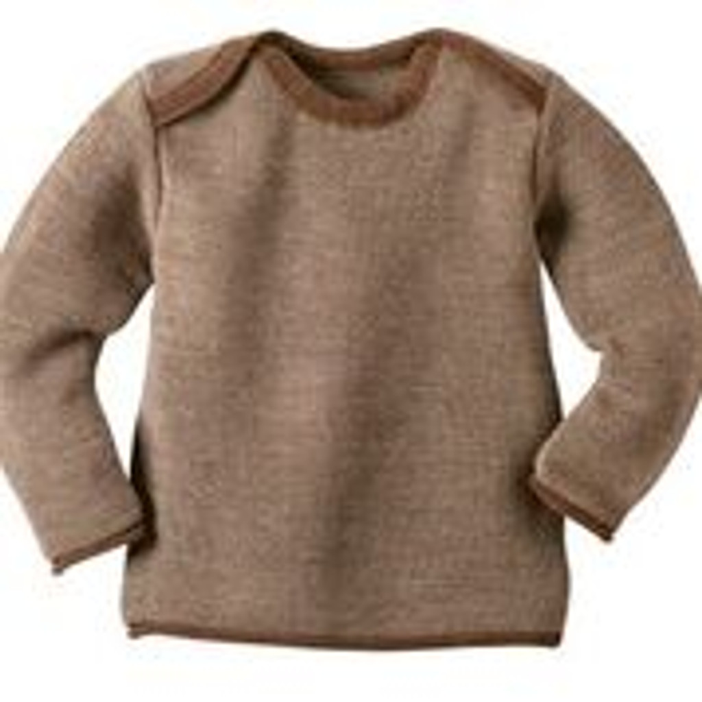 bc14120c916f Disana Melange Jumper - Disana Canada - Merino Wool Clothing for ...