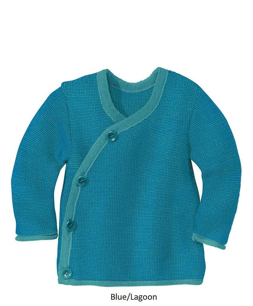Disana Melange Jacket Lagoon/Blue