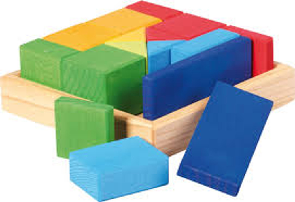 Glueckskaefer Quadrat Construction Puzzle