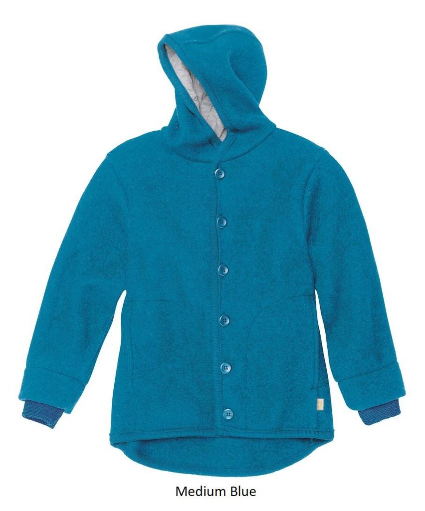 Disana Boiled Wool Jacket Blue