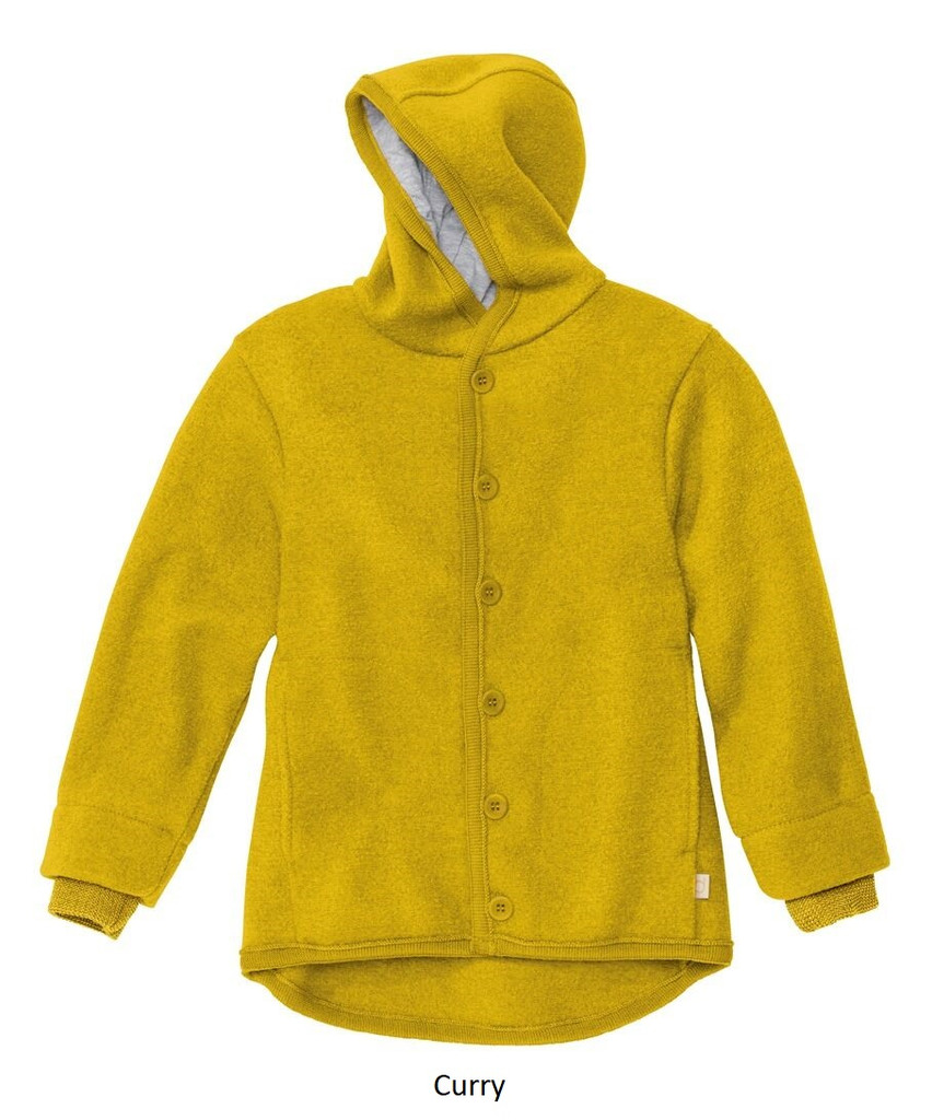 Disana Boiled Wool Jacket Curry