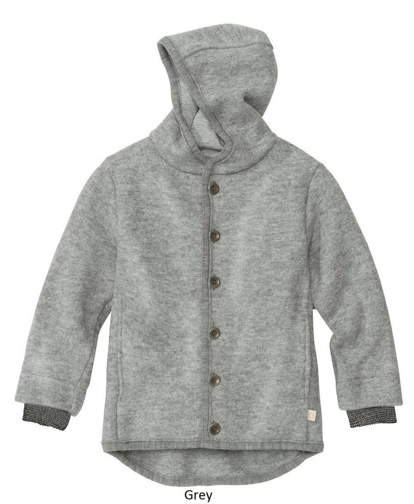 Disana Boiled Wool Jacket Grey