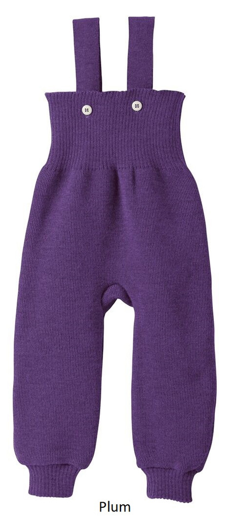 Disana Knitted Trousers Plum