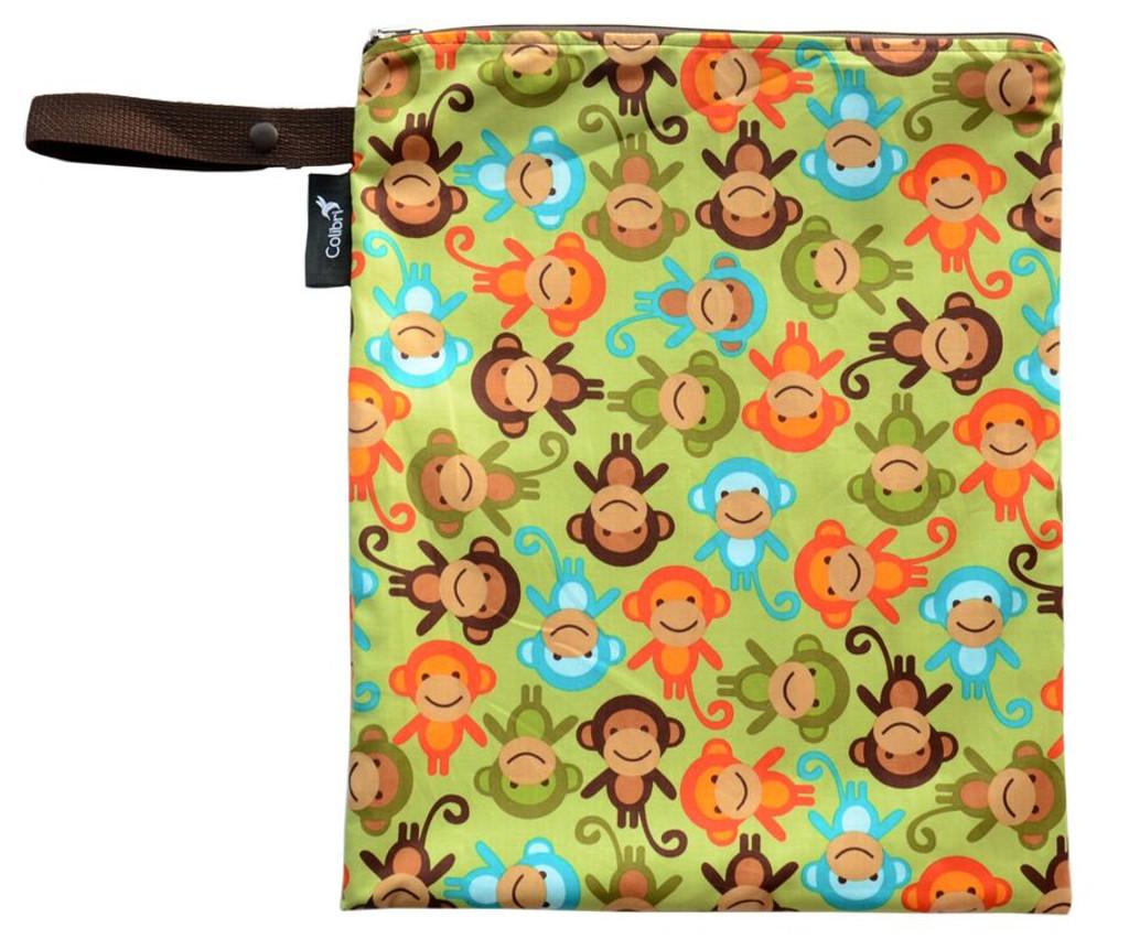 Colibri Medium Wet Bag - Monkeys