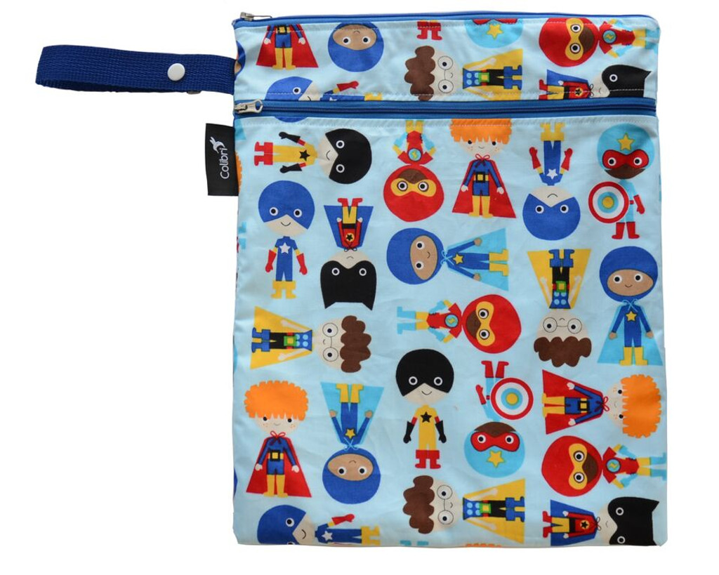 Colibri Wet/Dry Bag - Boy Super Heroes