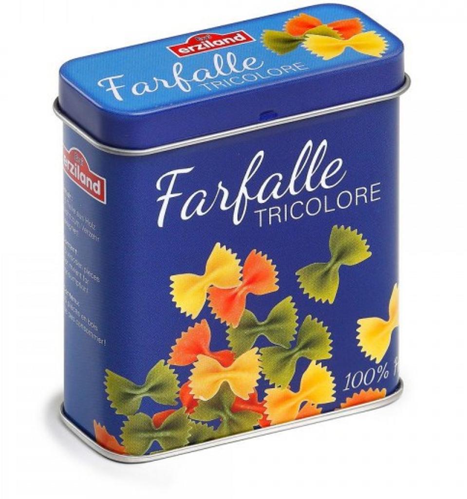 Erzi Farfalle Pasta in a Tin