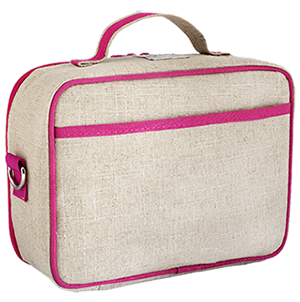 So Young Raw Linen Lunch Box
