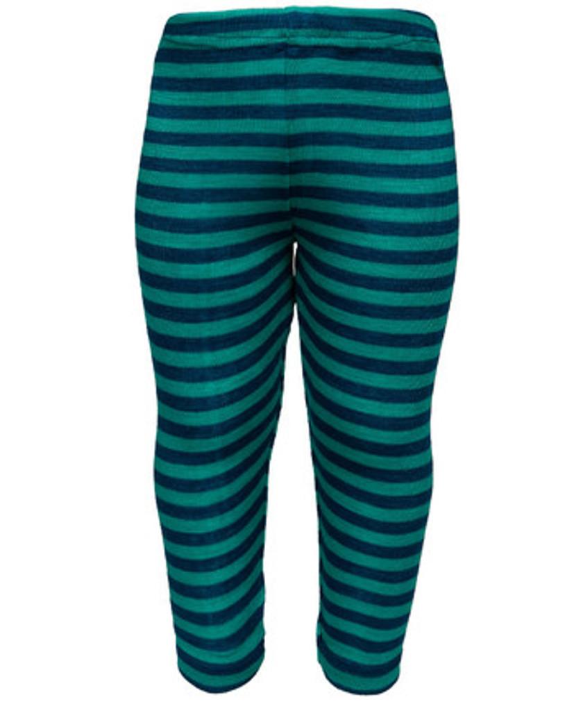 Engel Baby Leggings Merino Wool/Silk  - Light Ocean/Ice blue