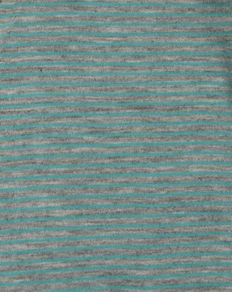 Engel Merino Wool/Silk Shirt - Grey/Ice Blue