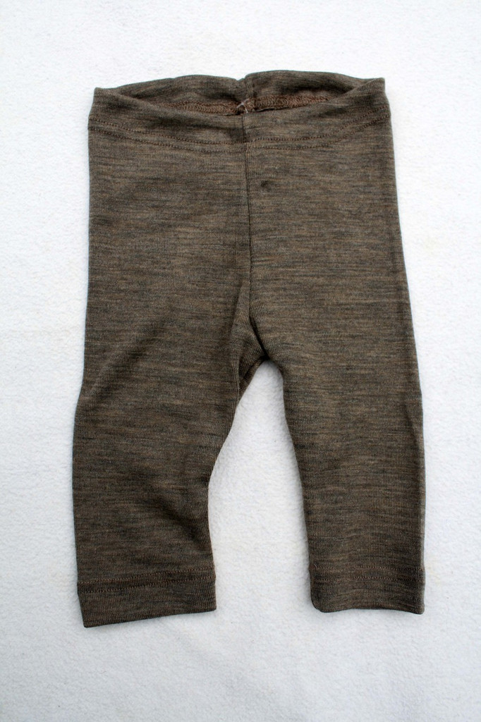 Engel Baby Leggings Merino Wool/Silk - Walnut
