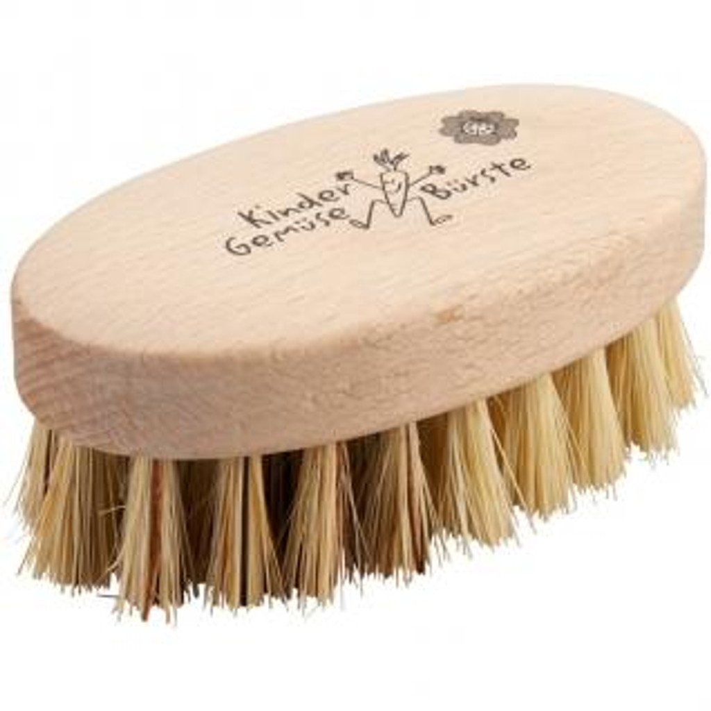 Glueckskaefer Wooden Vegetable Brush