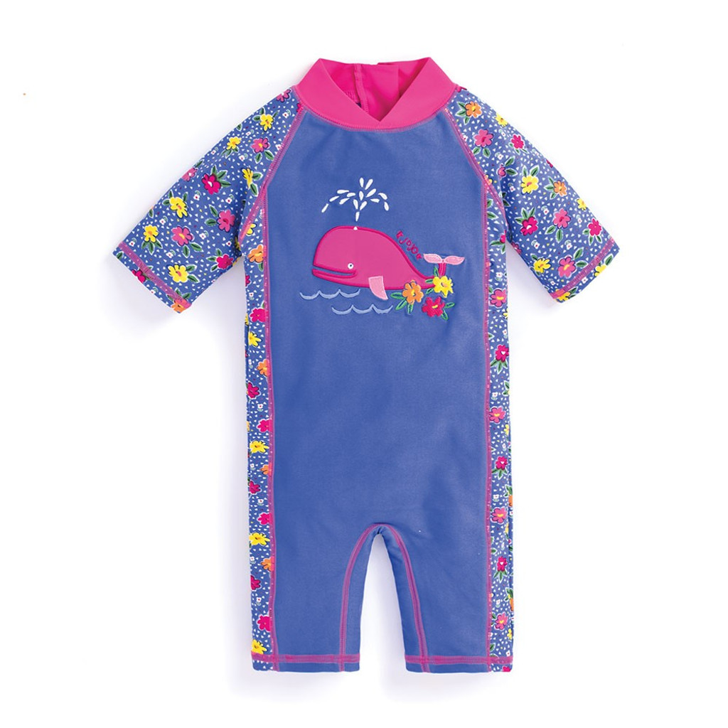 UV One-Piece Swimsuit for Toddlers - Primrose