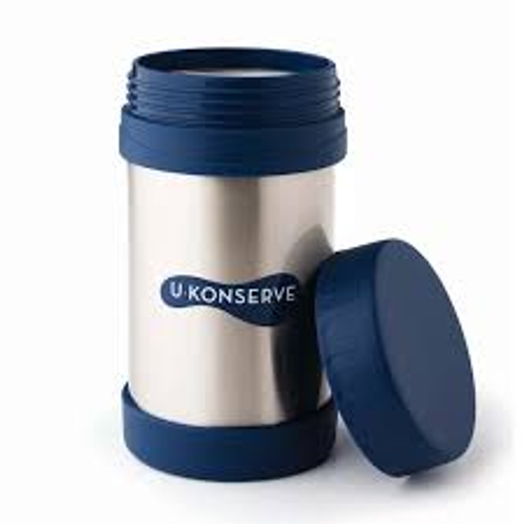 Kids Konserve Insulated Food Jar Navy