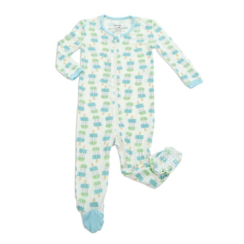 74604c3f5 Bamboo Footed Sleeper Popsicle - Silkberry Baby - Ava s Appletree