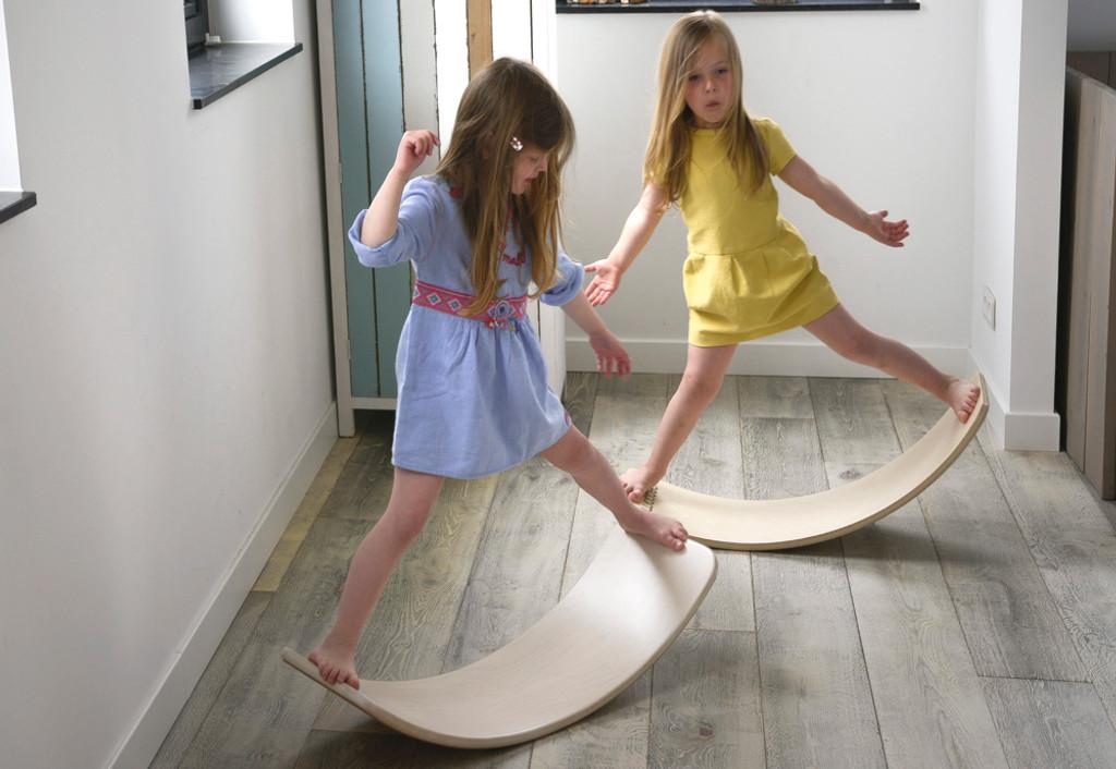 Wobbel Board Original Transparent Lacquer