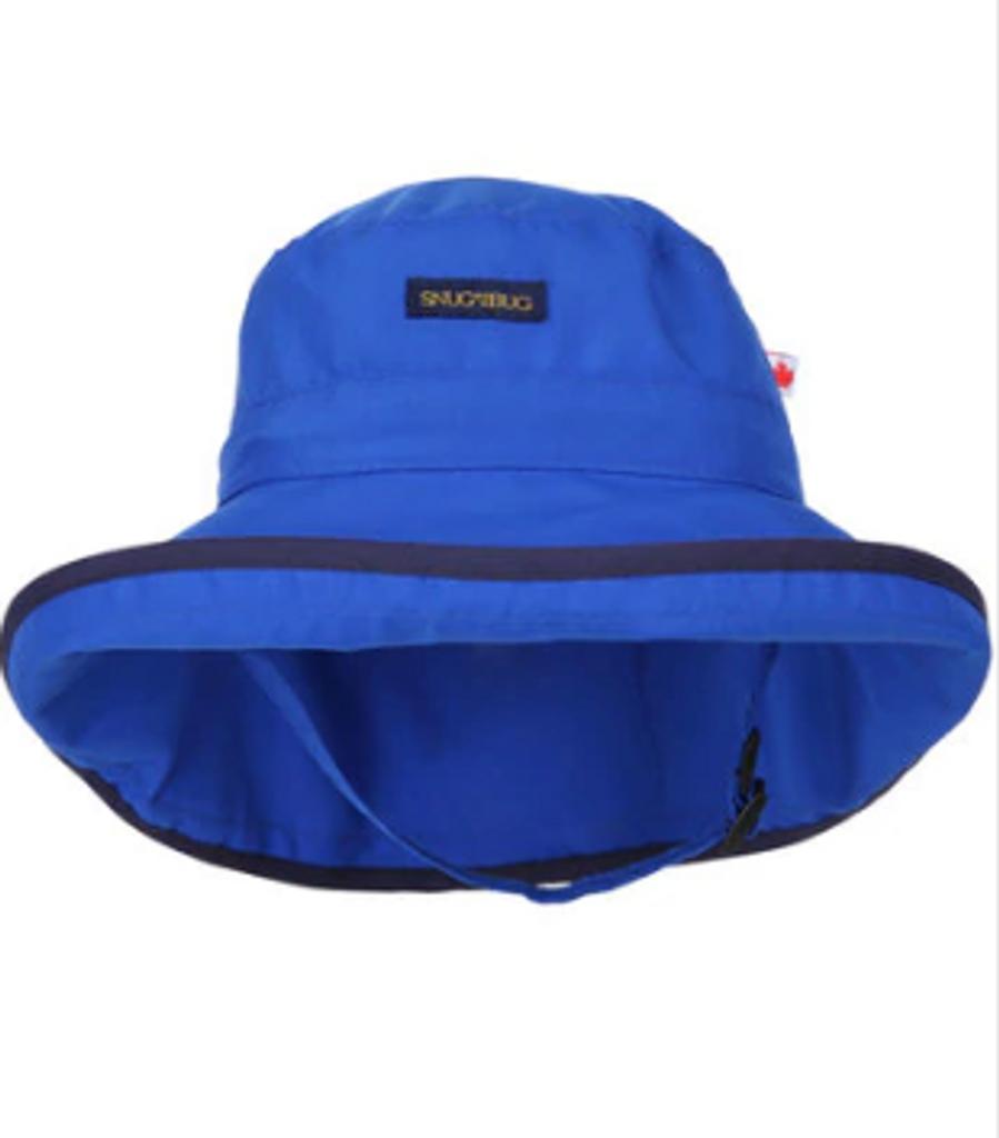 1935492e Snug As A Bug SPF 50 Adjustable Nylon Hat Royal Blue - SPF Sun Hats for Kids  - Ava's Appletree
