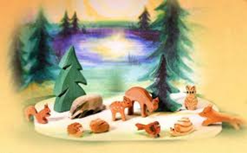 Ostheimer Forest Set with Diorama 12 pc.