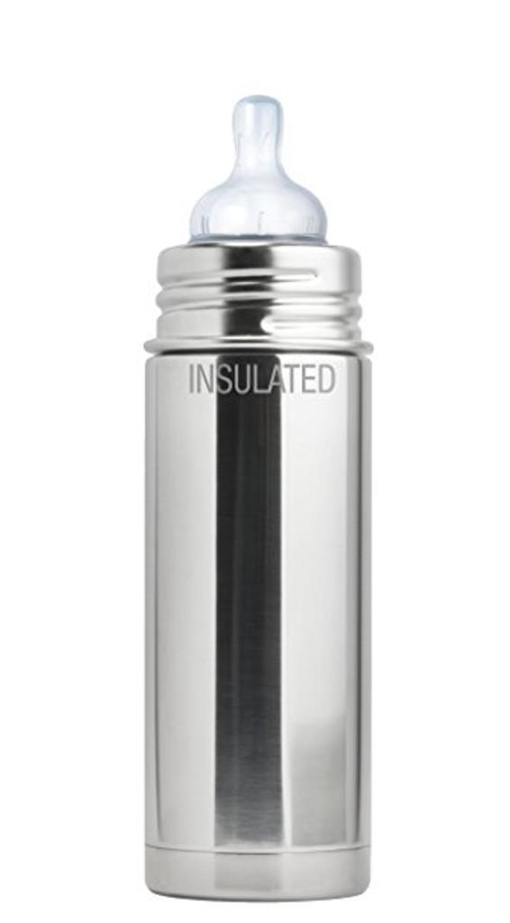 Pura Kiki Baby Bottle 9oz - Natural Mirror - Insulated
