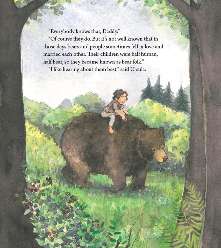 Bear Child - A peek inside