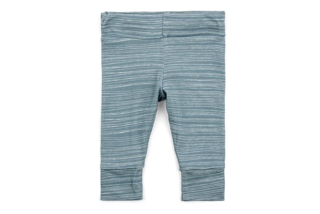 Milkbarn Organic Cotton Legging - Blue Stripe