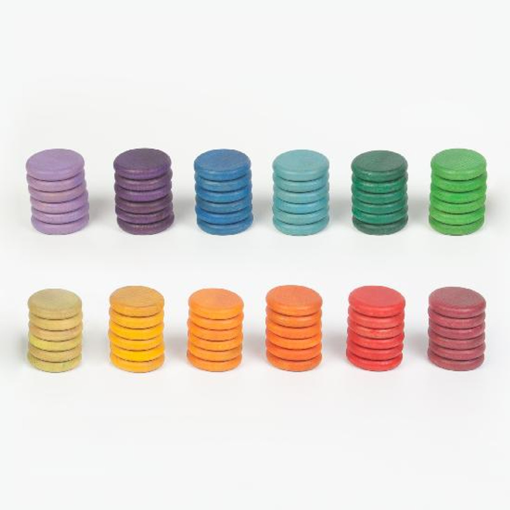 Grapat Rainbow Coins 72 pc