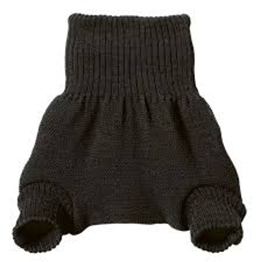 Disana Wool Diaper Cover - Anthracite