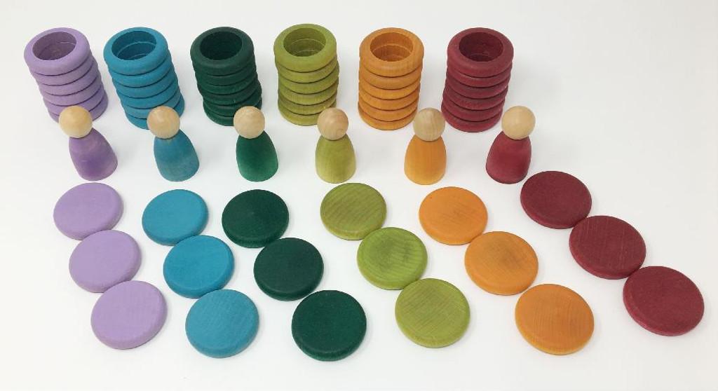 Grapat Nins, Rings and Coins (no basic colours)