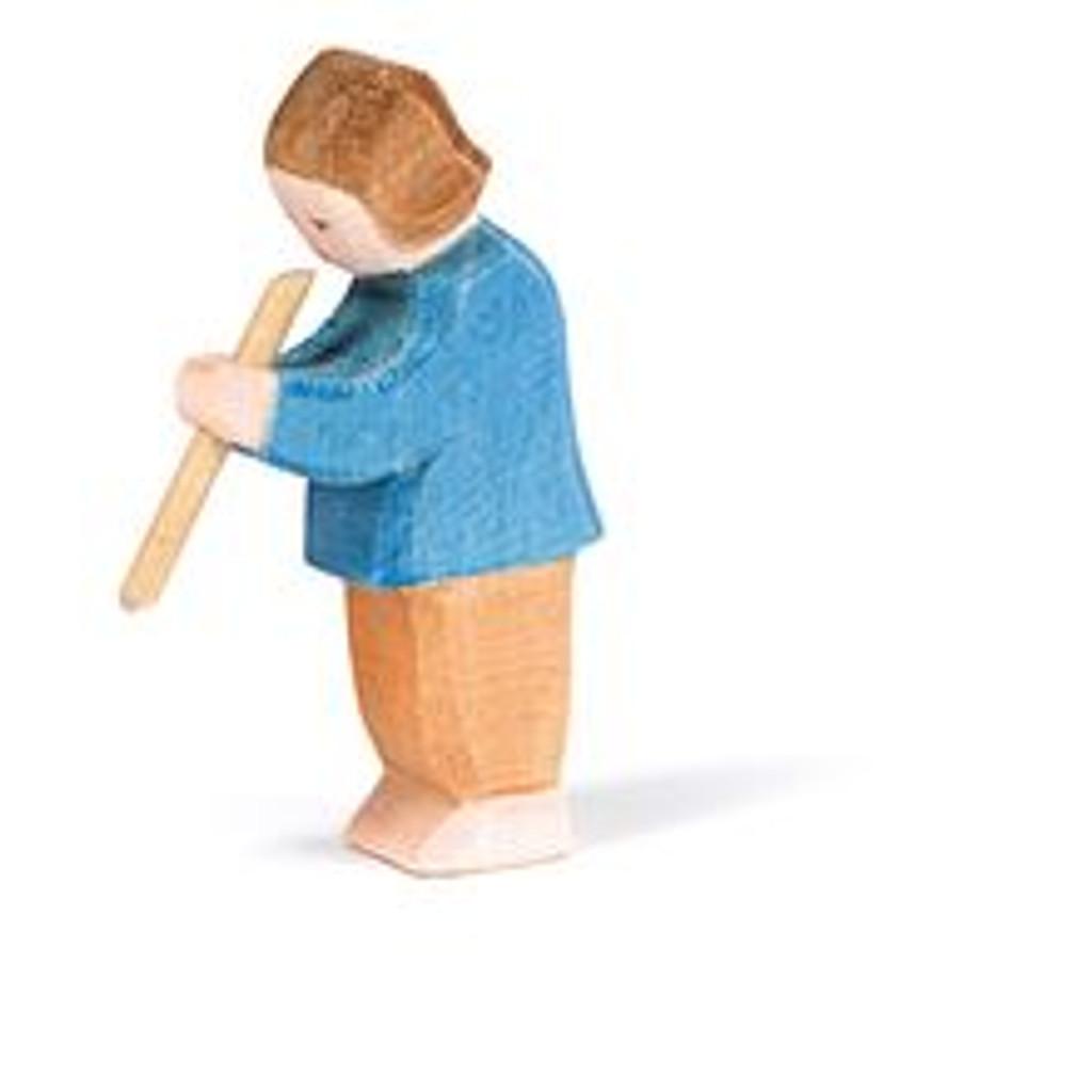 Ostheimer Wooden Son Playing Flute