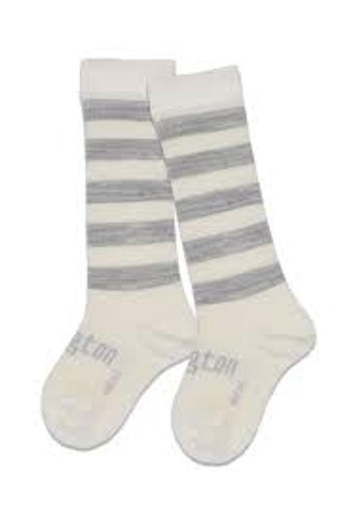 Lamington Knee-High Wool Socks Willow