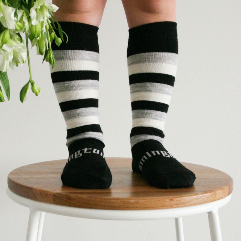 Lamington Knee-High Wool Socks