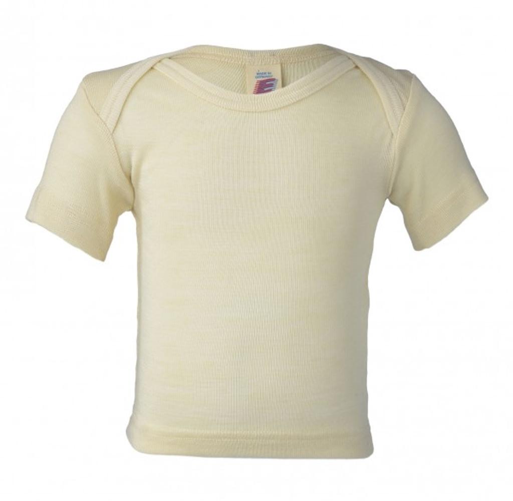 Engel Baby Short Sleeve Shirt Organic Merino Wool/Silk