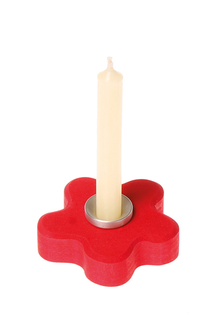 Grimm's 10% Beeswax Candles (4 pc) - Creme