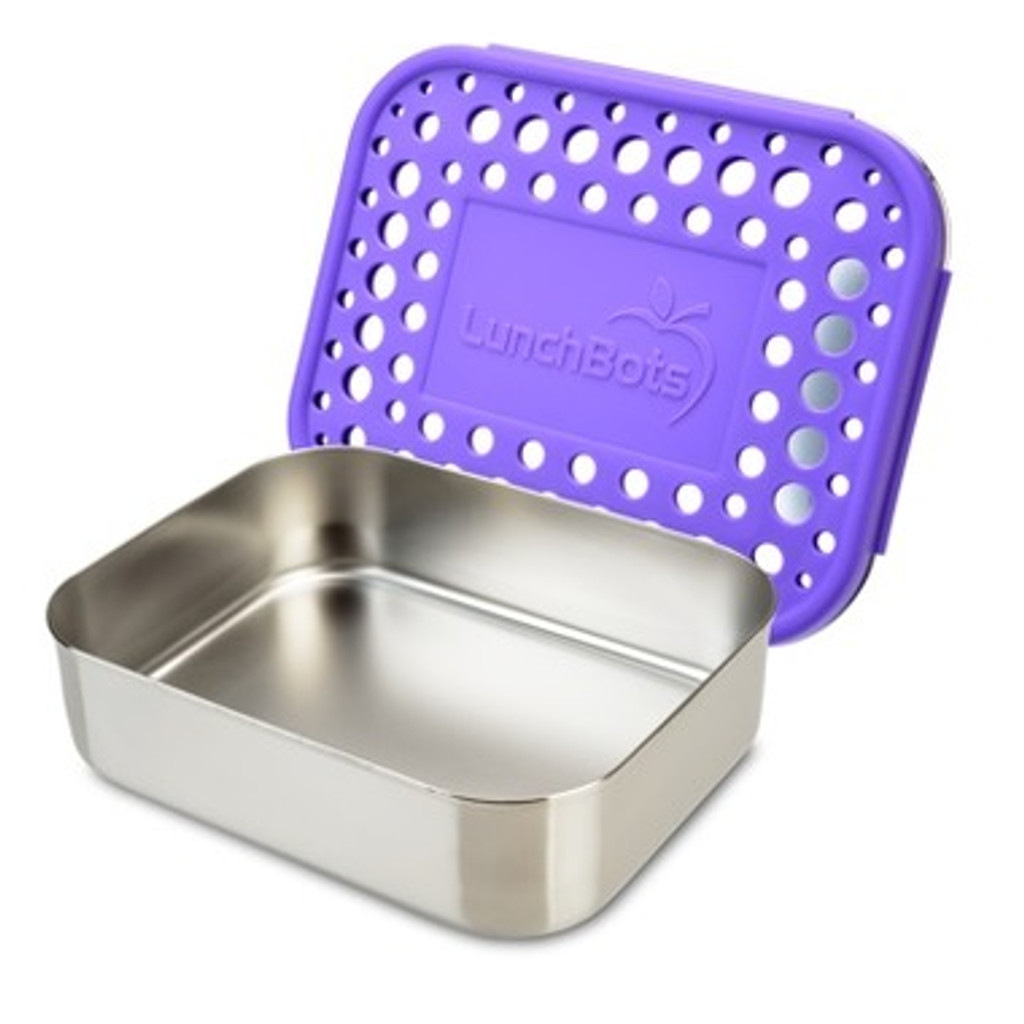 LunchBots Uno - Purple Dots