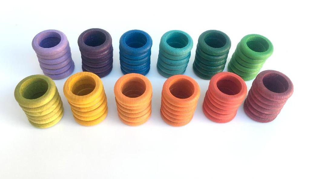 Grapat Coloured Rings 72 pcs (16-147)