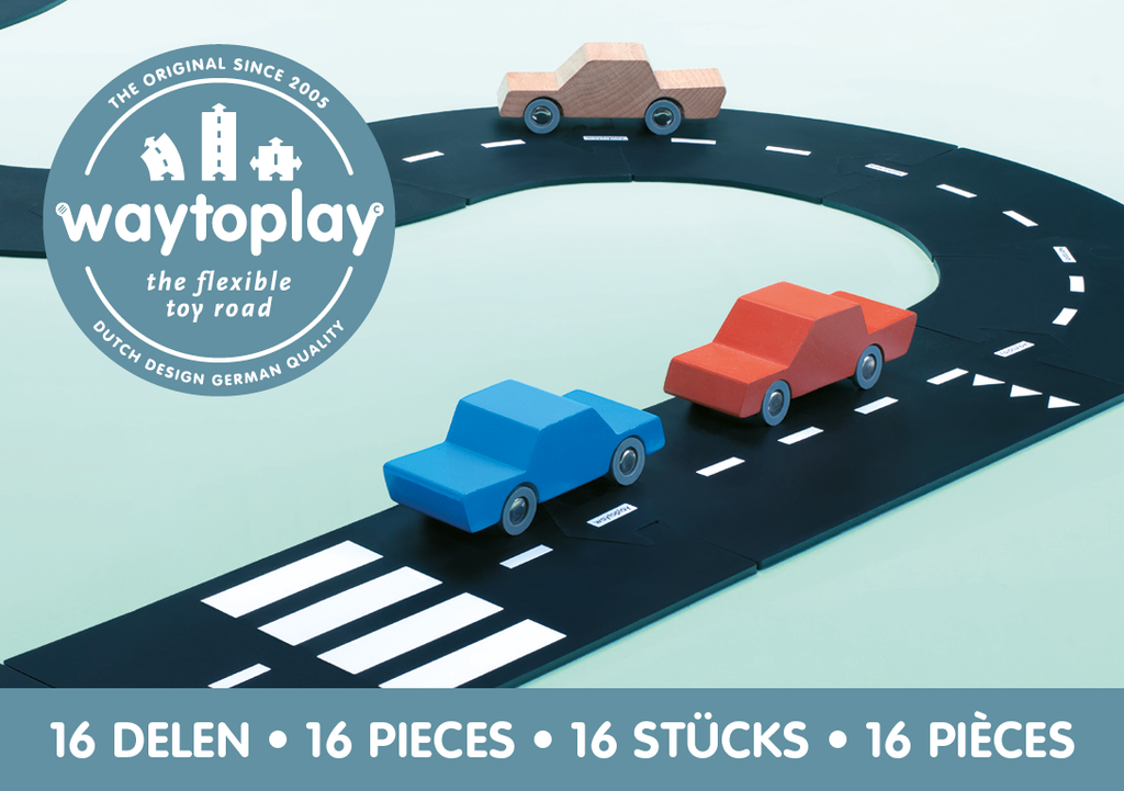 Way To Play Toys - Expressway 16 Piece