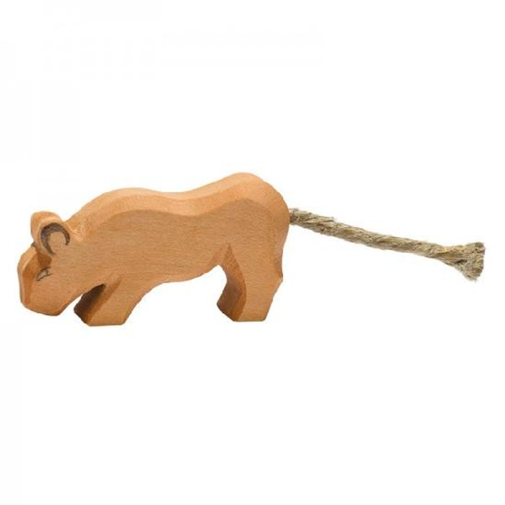 Ostheimer Wooden Lion - Small Head Low