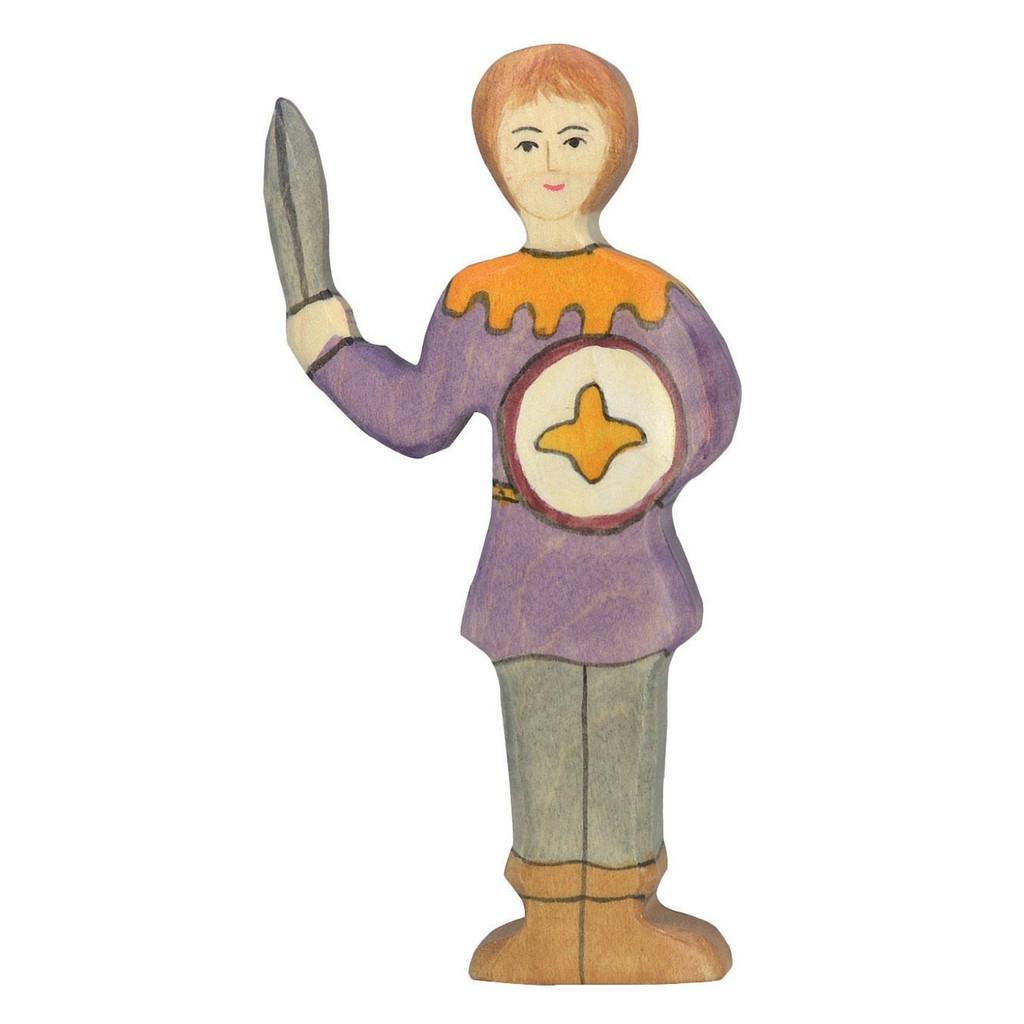 Holztiger Fighting Boy - Purple